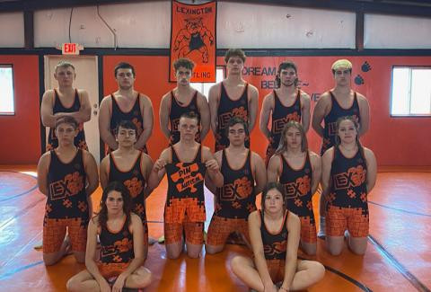 Lexington wrestling team